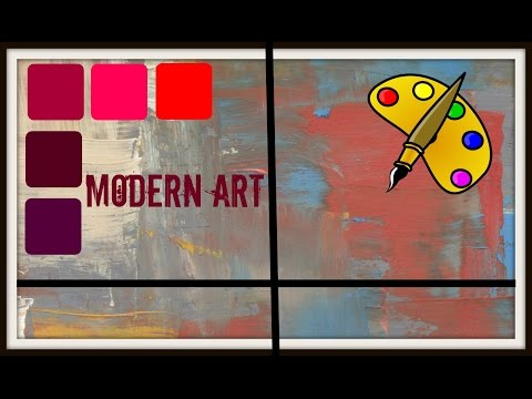 DIY Modern Art