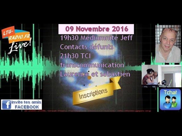 Les voies de l'au delà Transcommunication instrumentale Laurence et Seb 09 11 2016