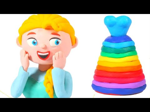 Mommy Has A New Rainbow Dress ❤ Cartoons For Kids