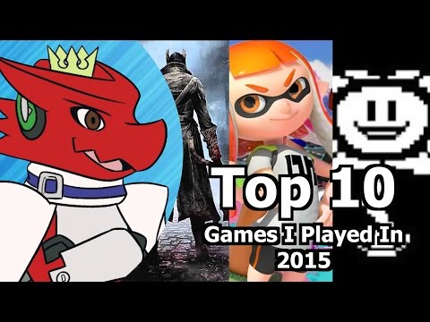 Top 10 Games I Played In 2015