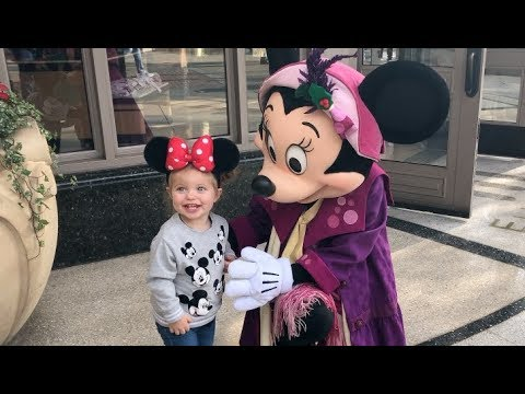 Excited Toddler at Disneyland! - YouTube