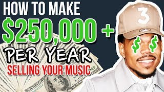Baixar How To Make $250,000+ Per Year Selling YOUR Music!!!