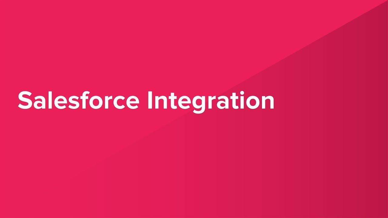 Salesforce Integration Demonstration