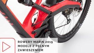 Rowery Marin 2019 - przeglądamy ofertę rowerów górskich z pełnym zawieszeniem