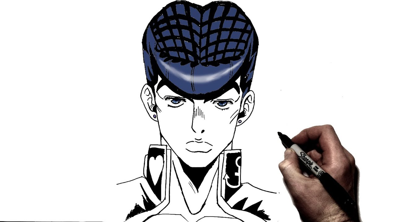 How To Draw Josuke Step By Step Jojo S Bizzare Adventure Youtube Jojo no kimyou na bouken: how to draw josuke step by step jojo s bizzare adventure