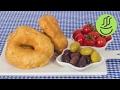Ekmek Hamurundan Pişi - Herkesin Yapabileceği 5 Dakikada Hamur Kızartması Tarifi - Kolay Pişi