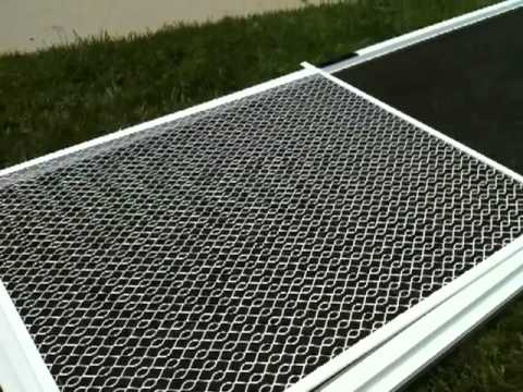 Simi Valley Pet Guard Install On Screen Door Youtube