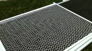 Simi Valley Pet Guard Install On Screen Door