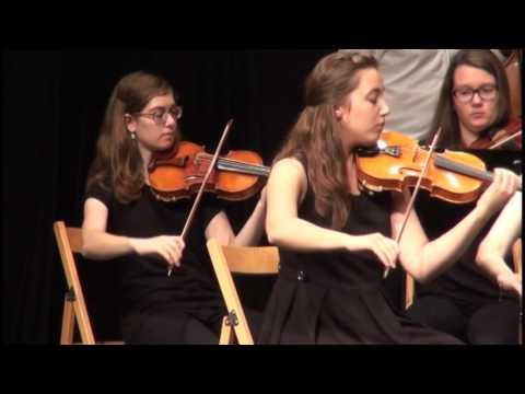 W. A. Mozart: Piano concerto nr. 20, D minor KV 466, Sara Rustja Turniski, piano (1st part)