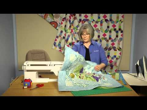Sew Easy: Quilt Binding with Faux Piping