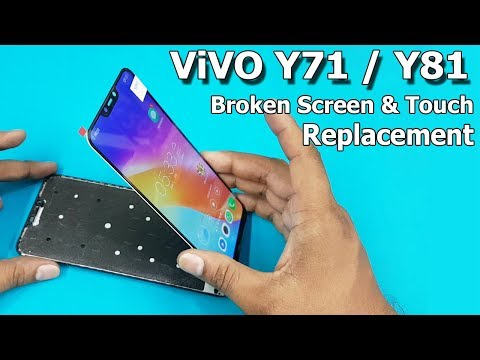 ViVO Y81 / Y71 Broken Screen And Touch Combo Replacement || How To Replace Mobile LCD Screen