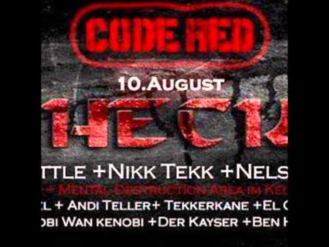 PsychOpel @ Code Red vs Mental Destruction _ Mikroport Club - Krefeld  09.08.2013