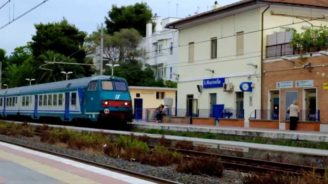 REGIONALE VELOCE ROMA TERMINI-PISA CENTRALE - YouTube