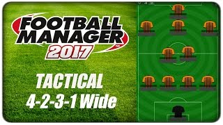 [tactics] fm17 :: 4-2-3-1 wide - timber wolf, football manager 2017 #fm17