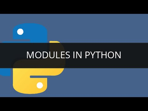 Modules in Python | What is Module | Python Tutorial for Beginners | Edureka