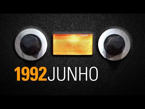 Fita audio cassete Funk Rio de Janeiro - 1992 Junho