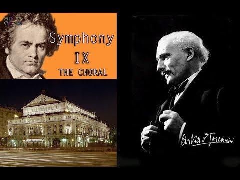 """Beethoven """"Symphony No. 9"""" Arturo Toscanini 1941"""