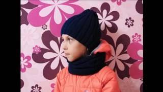 Как связать шапочку для девочки и мальчика, спицами. От 1 года до 5.