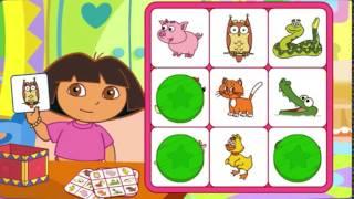 Dora L'Esploratrice Gioca a Tombola 3 | Happy Games Italia