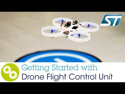 Getting started with ST's Flight Control Unit - Build  your drone