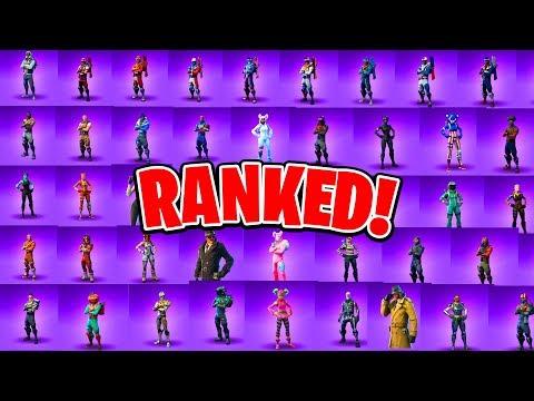 Ranking ALL 47 Epic Fortnite Skins! (Fortnite Battle Royale All Skins Ranked!)