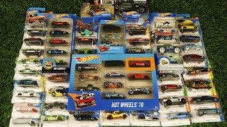 Hot Wheels Cars 60 Collection ( lamborghini, tesla, porsche, camaro and much more)