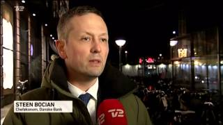 Steen Bocian udtaler sig om Bolig Job ordning i TV2 nyhederne.