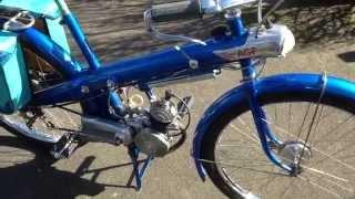 cyclomoteur AGF à moteur le poulain modèle 1951 concurant du solex