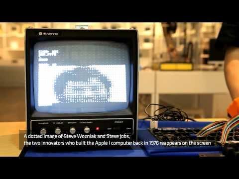 [Nexon Computer Museum] Original Apple1 Working Video (Apple I