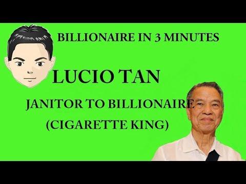 Billionaire Lucio Tan in 3 Minutes (Janitor to Billionaire)