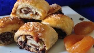 Christmas Rugelach Cookies