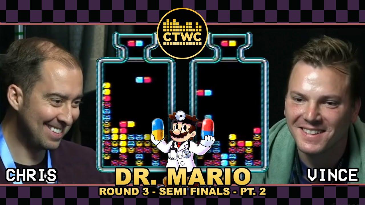 Dr Mario Championship Rd 3 Pt 2 Can Tetris Masters Dr Mario