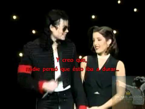 MICHAEL JACKSON Y LISA MARIE PRESLEY EN LOS MTv MUSIC AWARDS ( 08/09/1994 )