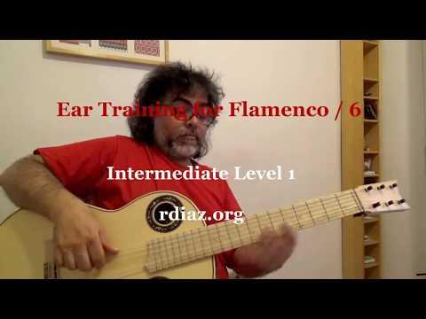 Ear training (6 Aeolian mode) in modern flamenco /Learn Paco de Lucia´s Style/Ruben Diaz