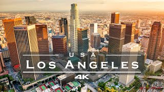 Los Angeles, USA 🇺🇸 - by drone [4K]