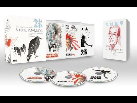 SURVIVOR BALLADS: THREE FILMS BY SHOHEI IMAMURA [Arrow Academy Blu-rays]