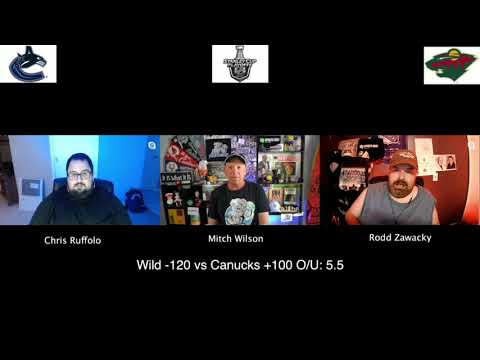 Minnesota Wild vs Vancouver Canucks 8/7/20 NHL Pick and Prediction Stanley Cup Playoffs