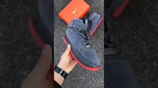 Обзор замшевых кроссовок Nike Air Force РЕПЛИКА ААА+