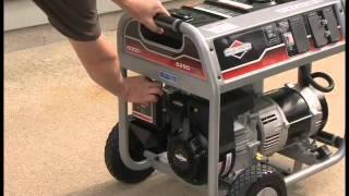 Briggs & Stratton: Operating a Portable Generator