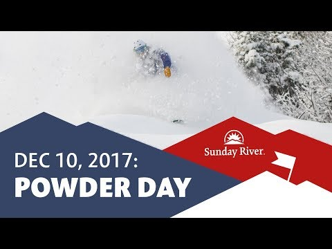 December Powder at Sunday River in 4K