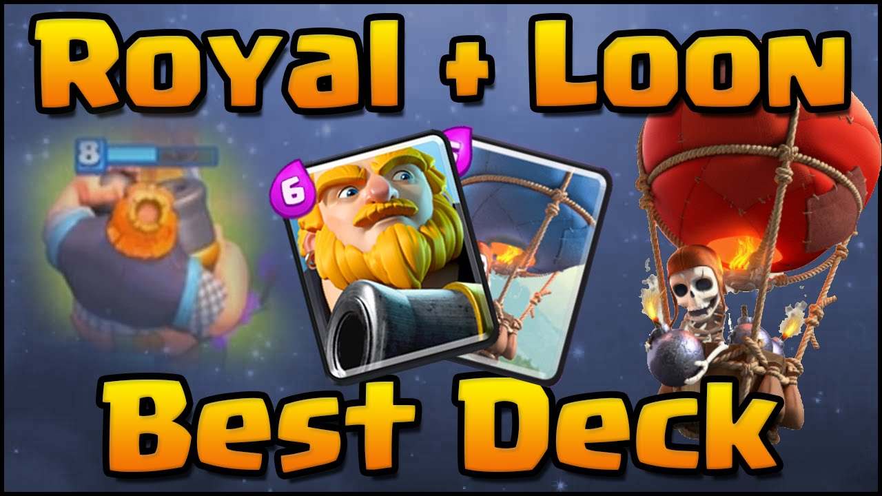 Clash Royale Amazing Royal Giant Balloon Deck And Attack Strategy For Arena 7 Arena 8 Youtube