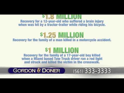 Car Accident Attorney | Lantana FL | Gordon & Doner