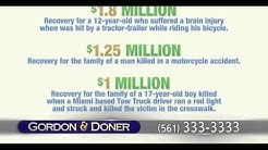 Car Accident Attorney | Lantana FL | Gordon & Doner