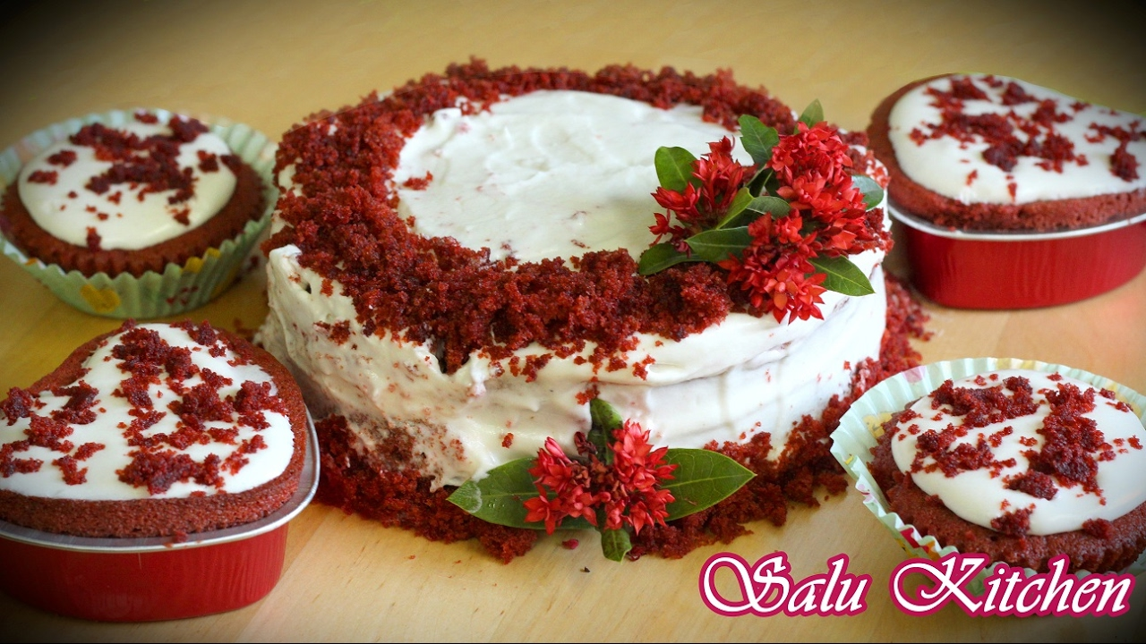 Cake Icing Recipe In Malayalam: Valentine's Day Special : Red Velvet Cake