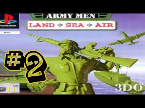 Army Men Land, Sea & Air #2 - Halfway Complete??