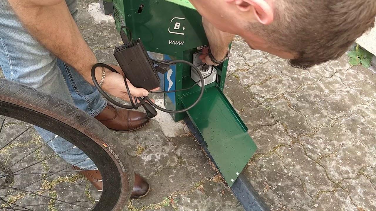Bikeep Universal Ebike charging
