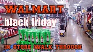 WALMART BLACK FRIDAY DEALS/ IN-STORE Wąlk through