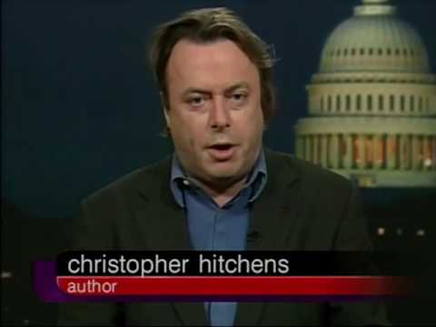 Christopher Hitchens and others debate Iraq War (2002)