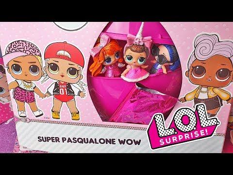 LOL Surprise 🐣 SUPER PASQUALONE WOW [Unboxing Uova di Pasqua]