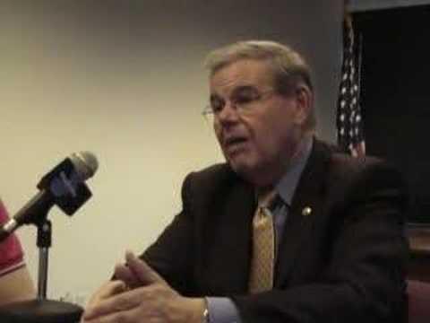 Blue Jersey's Interview of Bob Menendez: Iraq, Part One